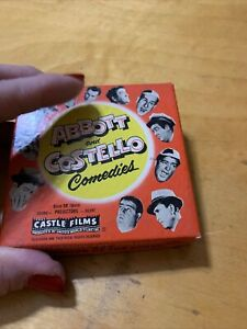 VTG Castle Films - Abbott & Costello Comedies - 8mm - 835 Champs Of Chase AM1
