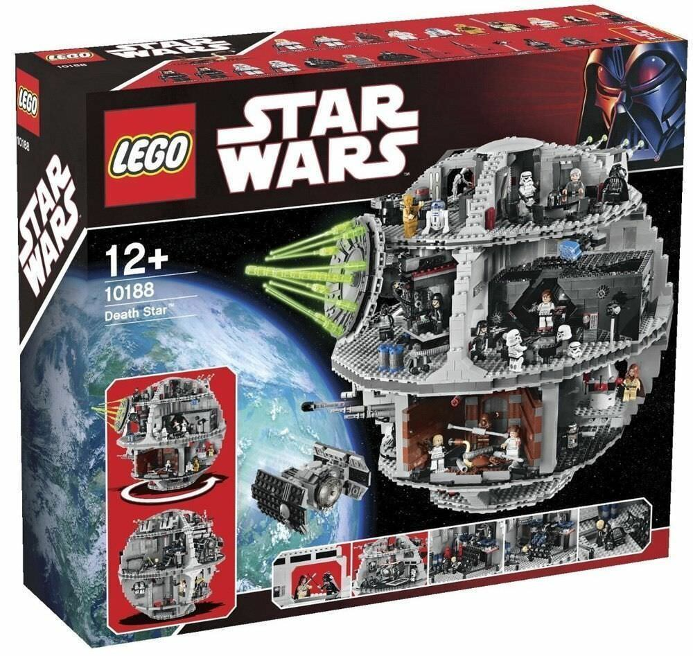 Lego 10188 star wars l' étoile schwarze death star neuf