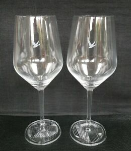 Two-Stunning-Grey-Goose-Stemmed-Vodka-Glasses-New-Home-Bar-Pub