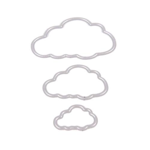 Cloud Metal Cutting Dies Stencil Scrapbook Album Paper Card Embossing Craft  ^F