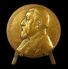 Médaille à René Louis Victor Cagnat historien de l'Afrique romaine Bénard Medal