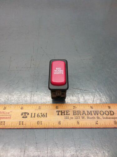 New TBB Thomas C2 School Bus Red Pilot Light 100155 Red Warning Indicator