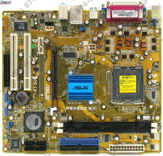 ASUS P5V800-MX MOTHERBOARD WINDOWS 7 X64 TREIBER