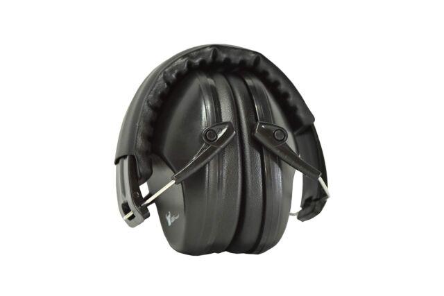 Slim Electronic Ear Muffs For Shooting Range Loud Noise Protection Hearing Gear