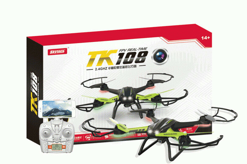 SkyTech 2.4GHz TK108HW Altitude Hold Wifi FPV 0.3MP  With Headless Mode RC Drone
