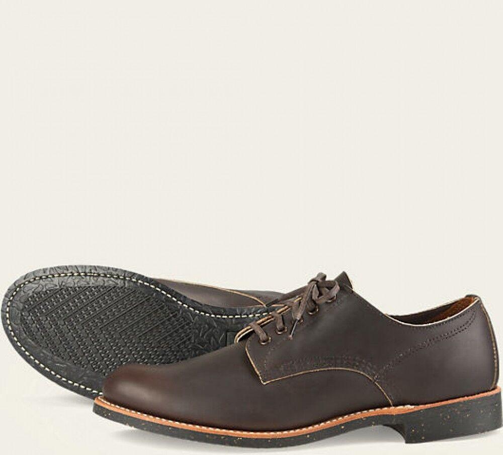 Red Wing  Mens Boots 8044 Merchant Heritage Work Ebony Harness  Dark Brown
