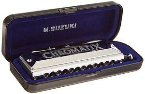 Suzuki Chromatix Scx-48 12 Trous Chromatique Harmonica, Clés D'un-afficher Le Titre D'origine