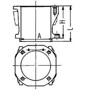 Cylindre-Manche-KOLBENSCHMIDT-89452110