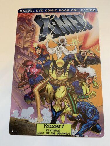 x-men  Metal Poster Tin Sign Figures Wolverine Cyclops Beast