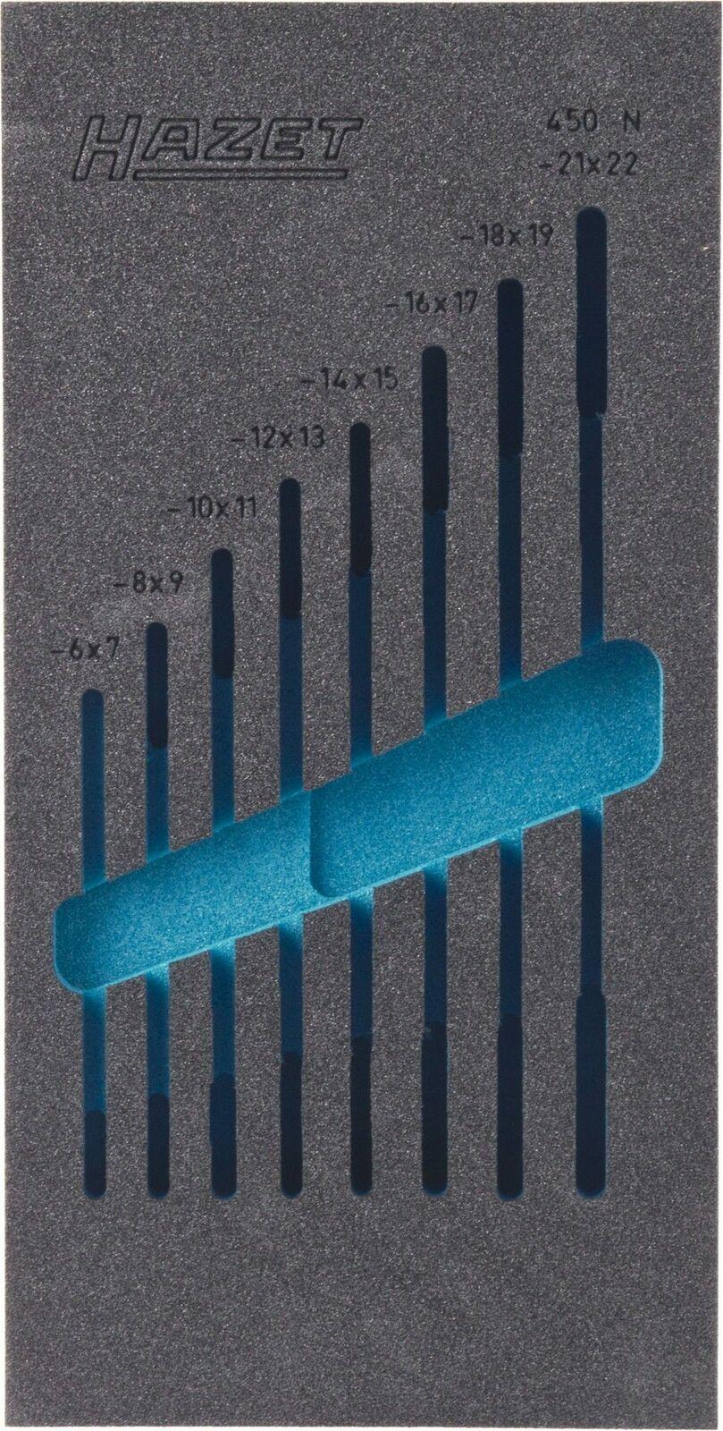 HAZET 2-component soft foam insert 163-95L