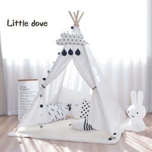 tipi kinderzelt spielzelt tippi indianer indianerzelt kinderzimmer spielzimmer ebay. Black Bedroom Furniture Sets. Home Design Ideas