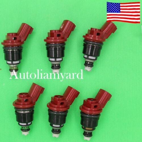 6 OEM Genuine JECS Fuel Injector for Nissan Altima Maxima Infiniti Q45 G20 I30
