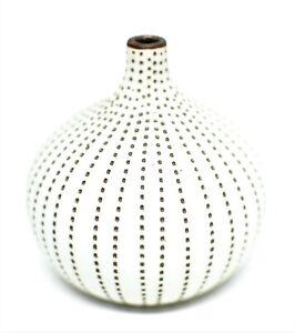 "Mini Pottery Vase Mini Small Nautical Ceramic Handmade Porcelain Stoneware 2.5"""