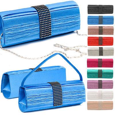Kleidung & Accessoires Pflichtbewusst Clutch Abendtasche Damen Umhängetasche Envelope Handtasche Kettentasche Glitzer