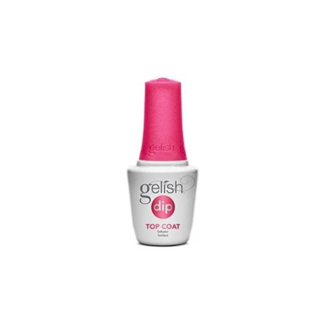 Gelish Dip SNS Nail Dipping System #4 Top Coat 15ml Vitamin A E Calcium