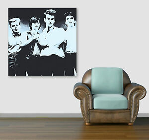 Image is loading THE-SMITHS-MORRISSEY-PRINT-ON-CANVAS-Framed-Digital-  sc 1 st  eBay & THE SMITHS - MORRISSEY PRINT ON CANVAS - Framed Digital Wall Art ...