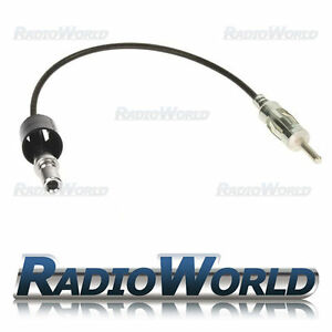 Jeep-Chrysler-Dodge-Aerial-Antenna-Mast-Adaptor-Lead-Cable-ISO-DIN-PC5-120
