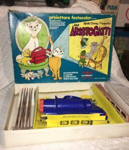 Blechspielzeug Stetig Projektor Harbert Festacolor Gli Aristocats Anni 70 1971 Vintage Walt Disney Autos & Busse