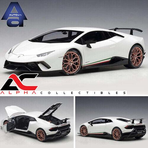 Autoart 79151 1  18 Lamborghini huracan performatonte performatonte performatonte (Bianco monocerus   blancoo) 35a