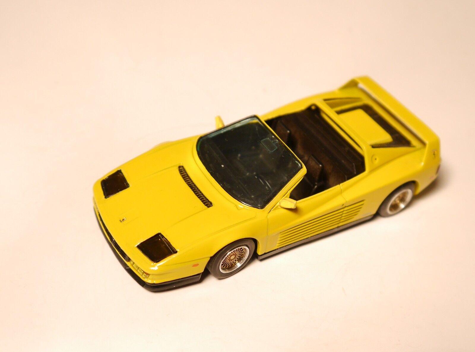 Ferrari Testarossa Targa Koenig Special, exbburago mmmm Transformation reconstruits en 1 43