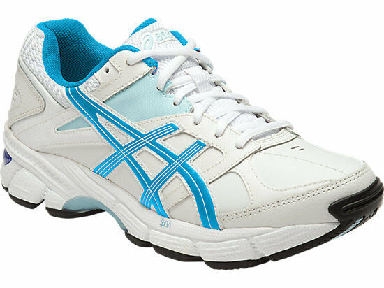 c06b1488b149 ASICS GEL 190tr Women's (d) Leather Cross Training Shoes White/pink US 09  for sale online | eBay