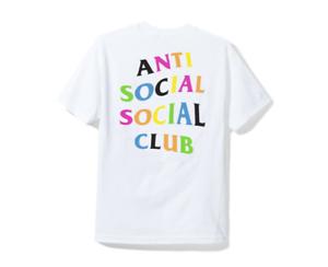 e60c11a07b0f Anti Social Social Club ASSC rainbow logo Rainy Dayz White Tee Shirt ...
