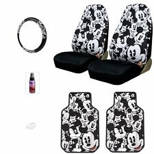 NEW MICKEY MOUSE CAR SEAT COVERS PLUS FLOOR MATS AND ACCESSORIES SET FOR CHEVY