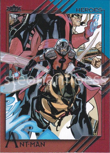Marvel Hero Attax Series 2 Rainbow Foil Base Card #15 Red Skull