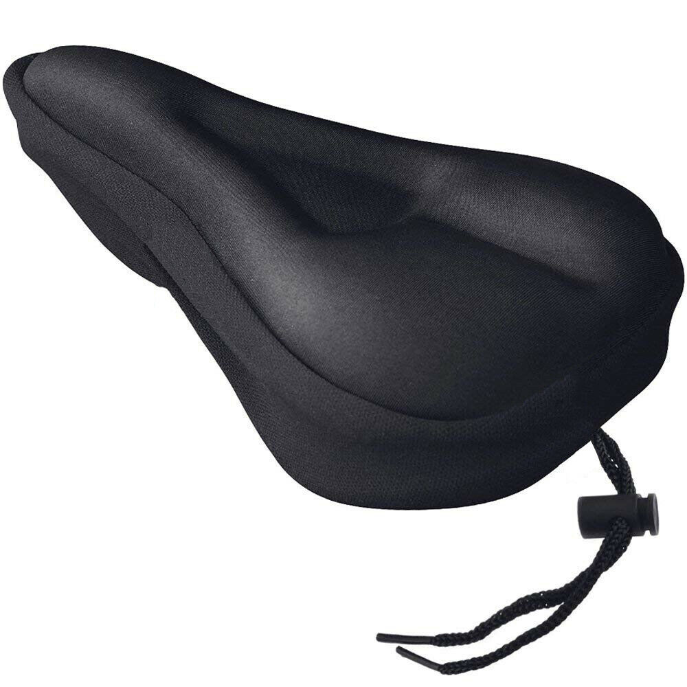Silicone Gel Extra Soft Bike Bicycle MTB Saddle Cushion Seat