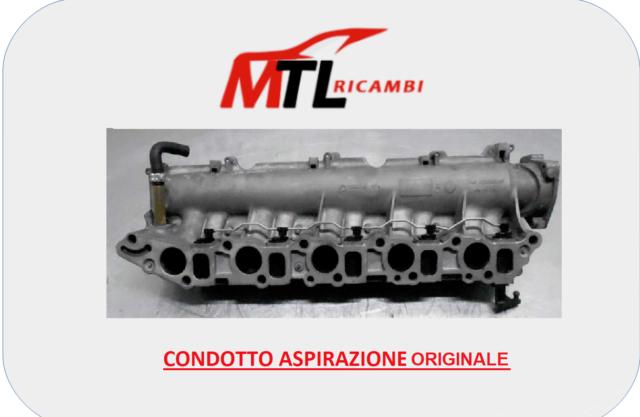 CONDOTTO ASPIRAZIONE ORIGINALE FIAT FIORINO 225 1.3 MTJ 55KW 75CV DA 2005 A 2010