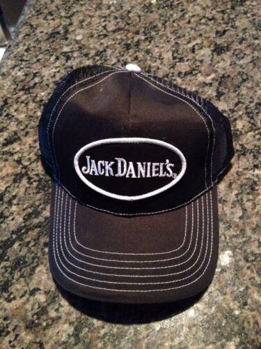 Black Jack Daniels Mesh Adjustable Embroidered Cotton  Ball Cap