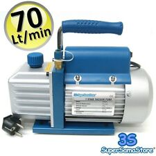 3S Vakuumpumpe 70 L/MIN Unterdruckpumpe Split Vacuum Pump Drehschieber 220 Volt