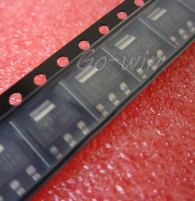 100pcs  AMS1117-3.3 LM1117 3.3V 1A SOT-223 Voltage Regulator NEW HIGH QUALITY