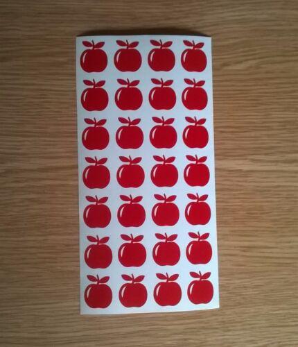 Pommes Vinyle Autocollants Carte Craft Making petits fruits Formes Autocollantes