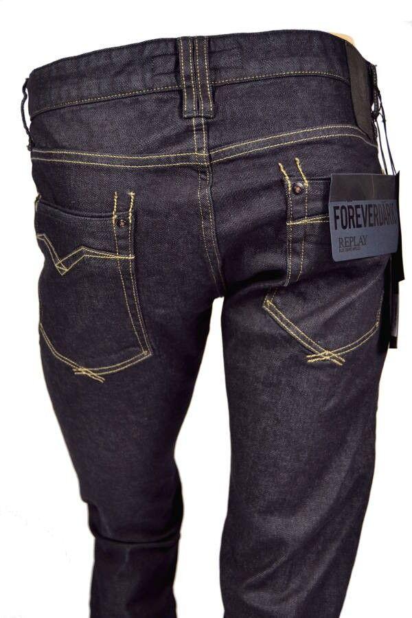 WIEDER DA  REPLAY Jeans MA955 NEWBILL 87B FOREVER DARK Comfort Fit NEU