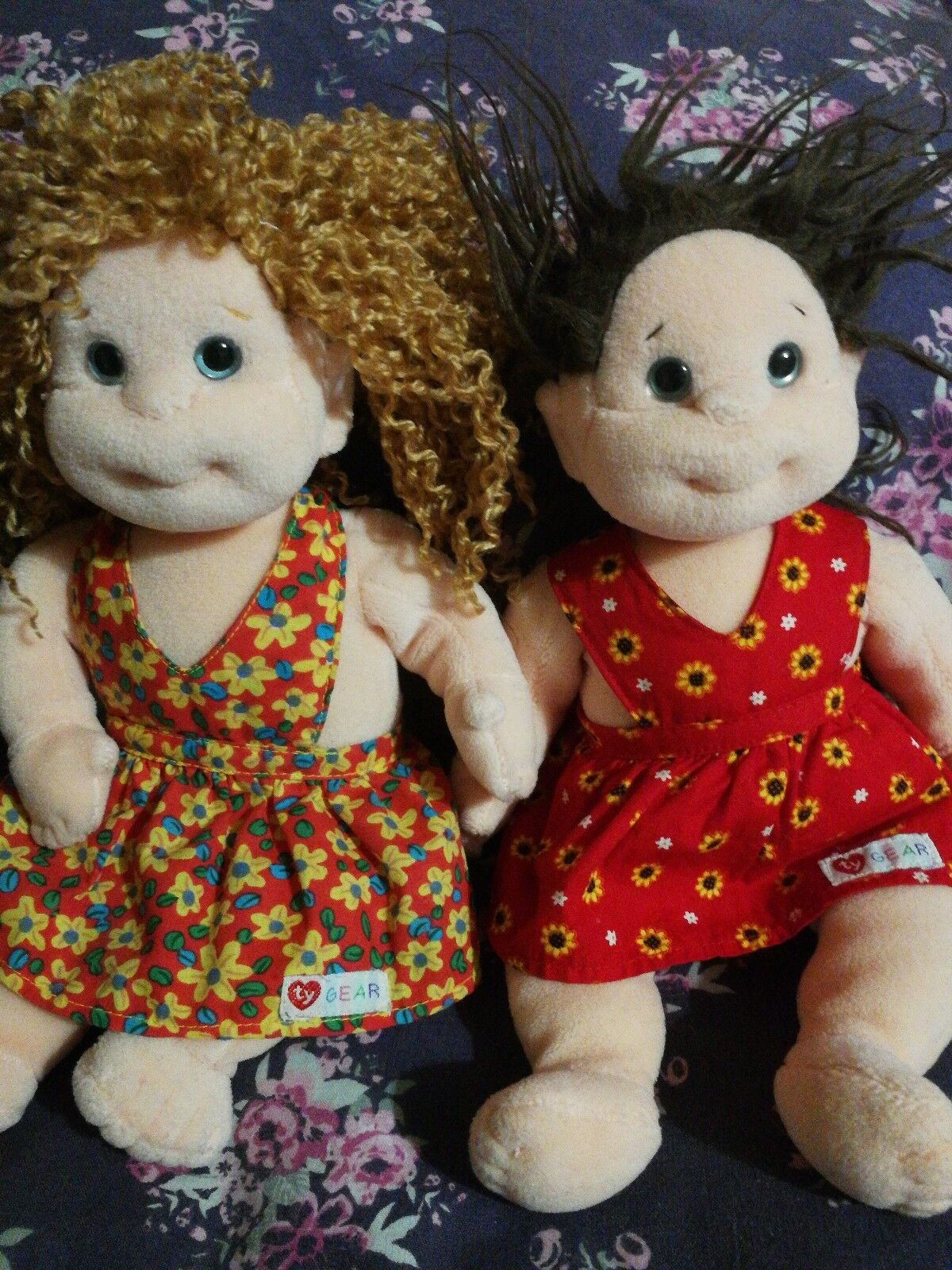 2    beani dolls vintage collectors item toys dollies girl toy soft toys 253cb6