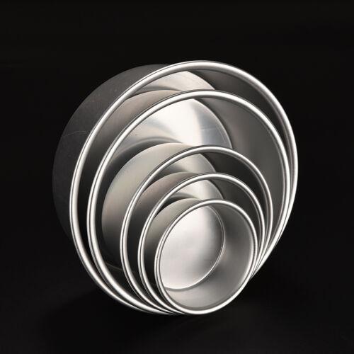 4//5//6//8//9/'/' Aluminum Alloy Non-stick Round Cake Baking Mould Pan Bakeware PY