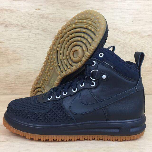 c6991380ca9 Nike Lunar Force 1 Duckboot Dark Obsidian Navy Blue Size 9.5 805899 400