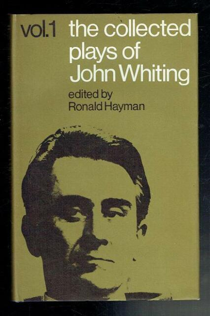 Whiting; The Collected Plays Of John Whiting Volume 1. Heinemann 1969 VG