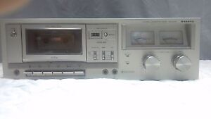 SANYO-STEREO-CASSETTE-DECK-RD-5053-4-TRACK-2-CH-AUTO-STOP-DOLBY-NR-VINTAGE