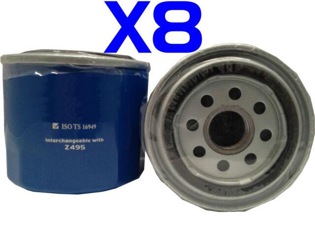 X8 Oil Filters Suit Z495 SUBARU Forester Impreza Liberty Outback