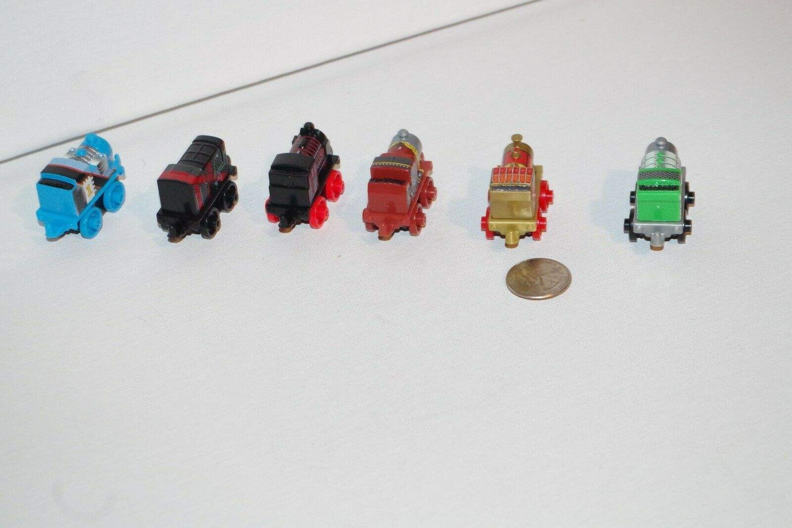 Thomas & Friends Minis Train Tank Engine Complete Warriors Set Set Set of 5 + Ninja Hiro 8ea3c2