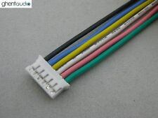 2pcs(30cm 1ft) JST PHR-6 UL Silicone Flexible Stranded Copper Cables 24AWG Wires