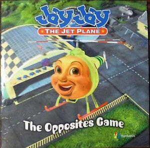 Jay Jay The Jet Plane The Opposites Game Paperback Ebay