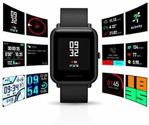 Amazfit Bip Smartwatch by Huami with All-Day Heart Rate and Activity Tracking, S