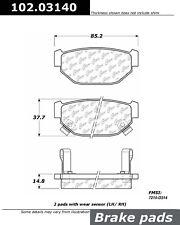 Centric 102.00400 C-Tek Metallic Brake Pad