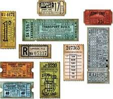 Sizzix Thinlits Dies By Tim Holtz  Ticket Booth 630454247647