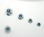 Nylock Bride écrous acier nylon inséré Autobloquant M5 M6 M8 M10 hexagon nuts