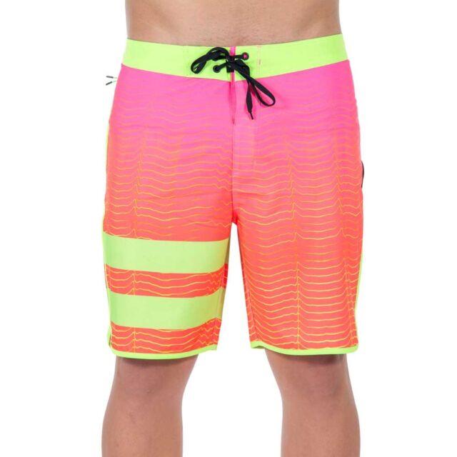 853ae3a198 Hurley Phantom Block Party Speed Board Shorts 18 Inch Mens Size 33 ...