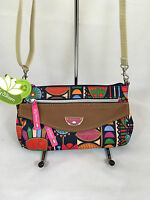 Lily Bloom Ashley Mini Crossbody Purse In Floral Tribal